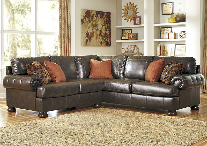 Nesbit DuraBlend Antique Living Room Sectional by BenchCraft.jpg